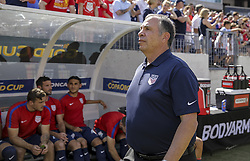 July 8, 2017 - Nashville, TN, USA - Nashville, TN - Saturday July 08, 2017: Bruce Arena during a 2017 Gold Cup match between the men's national teams of the United States (USA) and Panama (PAN) at Nissan Stadium. (Credit Image: © John Dorton/ISIPhotos via ZUMA Wire)