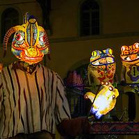 Festival of Lights in Lyon 2013 - rehearse.