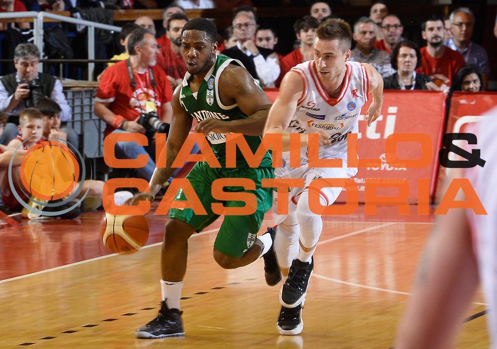 Reggio Emilia 18.05.2016<br /> Basket Serie A - Playoff Semifinali Gara 1<br /> Grissini Bon Reggio Emilia - Sidigas Avellino<br /> <br /> Nella foto: Joe Ragland