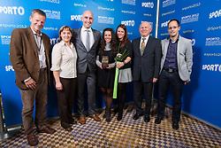 OKS - Olimpijski komite Slovenije during Sporto 2012 Gala Dinner and Awards ceremony at sports marketing and sponsorship conference Sporto 2012, on November 26, 2012 in Hotel Slovenija, Congress centre, Portoroz / Portorose, Slovenia. (Photo By Vid Ponikvar / Sportida.com)