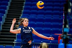 18-10-2018 JPN: World Championship Volleyball Women day 19, Yokohama<br /> Training day Netherlands in Yokohama Arena / Yvon Belien #3 of Netherlands