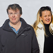 AUD/Lech/20110219 - Fotosessie Nederlandse Koninklijke Familie 2011 op wintersport in Lech, Willem Alexander en partner Maxima, kinderen Amalia,  Alexia, Ariane, Beatrix, Friso en partner Mabel