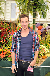 WILL YOUNG at the RHS Chelsea Flower Show 2009 held inthe gardens of the Royal Hospital Chelsea on 18th May 2009.