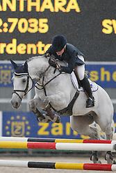 Lundbäck Viveca (SWE) - Canthara<br /> World Championship Young Horses Lanaken 2006<br /> Photo Copyright Hippo Foto
