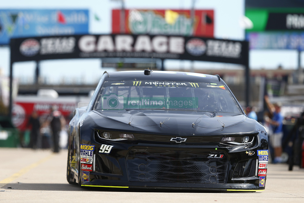 November 2, 2018 - Ft. Worth, Texas, United States of America - Kyle Weatherman (99) takes to the track to practice for the AAA Texas 500 at Texas Motor Speedway in Ft. Worth, Texas. (Credit Image: © Justin R. Noe Asp Inc/ASP via ZUMA Wire)