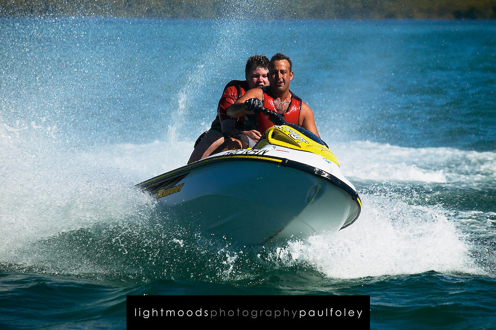 jet Ski Fun on Lake Macquarie, Australia