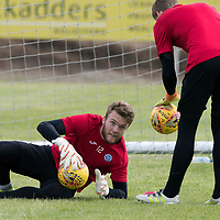 St Johnstone Training…23.06.17<br />Keeper Zander Clark pictured during a training session at McDiarmid Park<br />Picture by Graeme Hart.<br />Copyright Perthshire Picture Agency<br />Tel: 01738 623350  Mobile: 07990 594431