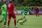 Forest Green Rovers Elias Youeff on the ball during the Pre-Season Friendly match between Worthing FC and Forest Green Rovers at Woodside Road, Worthing, Uni on 1 August 2017. Photo by Shane Healey.