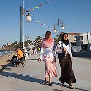 Algeria, Annaba : Rizzi amor beach former Saint Cloud beach     / Algerie Annaba.  Plage Rizzi amor ou de Saint Cloud  Bone  Algerie  Annaba 013
