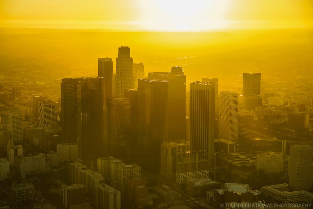 Downtown Los Angeles near Sunset