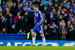 Oscar of Chelsea shows his frustration - Photo mandatory by-line: Rogan Thomson/JMP - 07966 386802 - 24/01/2015 - SPORT - FOOTBALL - London, England - Stamford Bridge - Chelsea v Bradford City - FA Cup Fourth Round Proper.