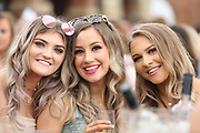 Racegoers at York Racecourse, York, United Kingdom on 26 May 2018. Picture by Mick Atkins.