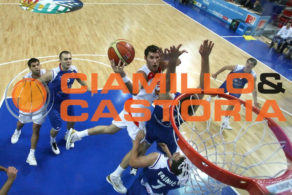DESCRIZIONE : Katowice Poland Polonia Eurobasket Men 2009 Finale 1 2 posto Final 1st 2nd place Spagna Spain Serbia<br /> GIOCATORE : Rudy Fernandez<br /> SQUADRA : Spagna Spain<br /> EVENTO : Eurobasket Men 2009<br /> GARA : Spagna Spain Serbia<br /> DATA : 20/09/2009 <br /> CATEGORIA : special<br /> SPORT : Pallacanestro <br /> AUTORE : Agenzia Ciamillo-Castoria/E.Castoria<br /> Galleria : Eurobasket Men 2009 <br /> Fotonotizia : Katowice  Poland Polonia Eurobasket Men 2009 Finale 1 2 posto Final 1st 2nd place Spagna Spain Serbia<br /> Predefinita :