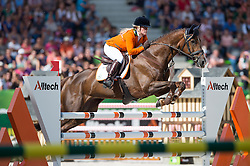 Elaine Pen, (NED), Vira - Jumping Eventing - Alltech FEI World Equestrian Games™ 2014 - Normandy, France.<br /> © Hippo Foto Team - Jon Stroud<br /> 31-08-14