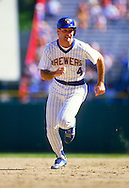 MILWAUKEE - 1987:  Paul Molitor of the Milwaukee Brewers runs the bases during an MLB game at County Stadium in Milwaukee, Wisconsin.  Molitor played for the Brewers from 1978-1992.  (Photo by Ron Vesely)