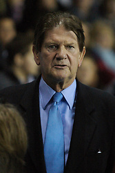 Reading, England - Saturday, December 8, 2007: Reading multi-millionaire Chairman John Madejski during the Premiership match against Reading at the Madejski Stadium. (Photo by David Rawcliffe/Propaganda)