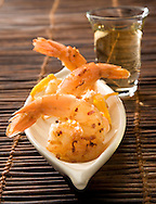 Coconut encrusted shrimp
