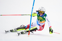 January 7, 2018 - Kranjska Gora, Gorenjska, Slovenia - Wendy Holdener of Switzerland competes on course during the Slalom race at the 54th Golden Fox FIS World Cup in Kranjska Gora, Slovenia on January 7, 2018. (Credit Image: © Rok Rakun/Pacific Press via ZUMA Wire)