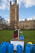 Catherine McKinnell MP. Marking World Water Day, over 40 MP's walked for water at Westminster, London at an event organised by WaterAid and Tearfund. Globally hundreds of thousands of people took part in the campaign to raise awareness of the world water crisis.