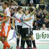 16 Germany v Netherlands hf men EuroNationsIndoor