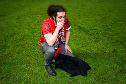 A Bristol City fan is brought to tears of joy after his side secure a 2-1 victory over Manchester United - Rogan/JMP - 20/12/2017 - Ashton Gate Stadium - Bristol, England - Bristol City v Manchester United - Carabao Cup Quarter Final.