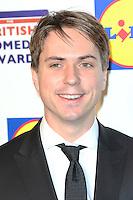 Joe Thomas, British Comedy Awards, Fountain Studios, London UK, 16 December 2014, Photo by Richard Goldschmidt