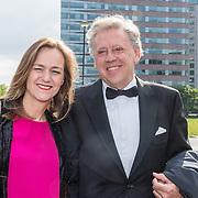 NLD/Amsterdam/20190525 - AmsterdamDiner 2019, Ed Nijpels en partner Elsbeth Janmaat
