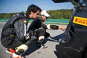 October 7, 2013. Lamborghini Super Trofeo - Virginia International Raceway.
