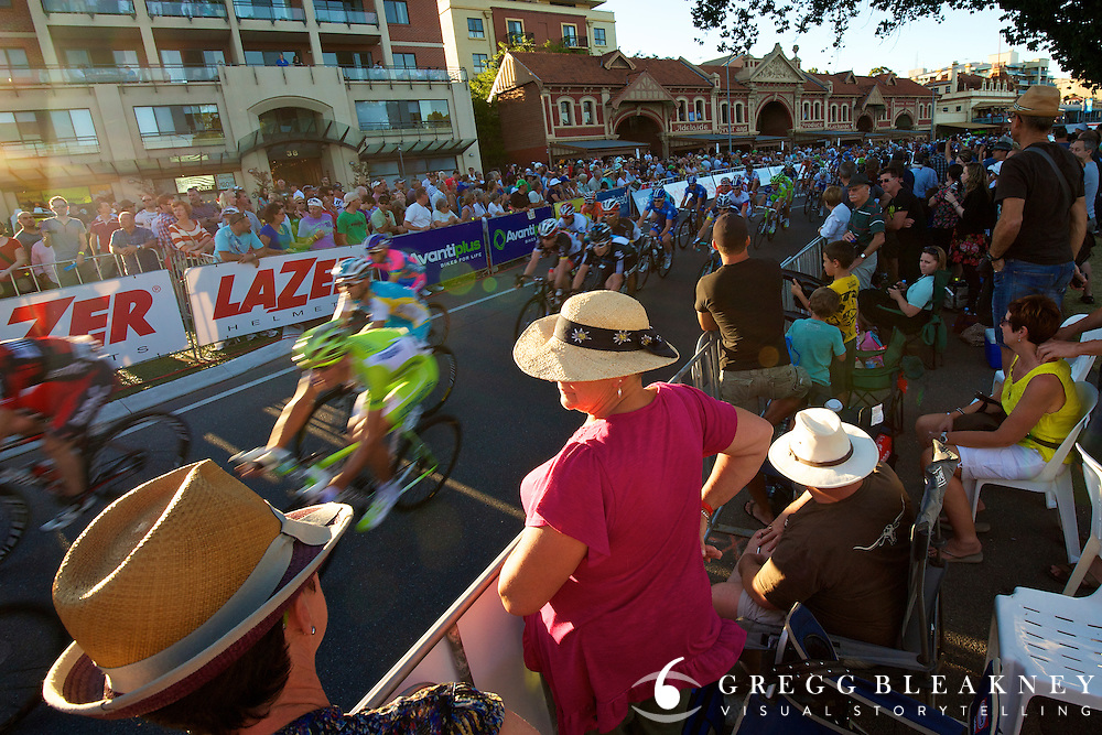 Nearly 800,000 spectators turned out for the 2012 Santos Tour Down Under - Adelaide
