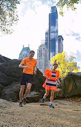 02-11-2013 ALGEMEEN: BVDGF NY MARATHON: NEW YORK <br /> Parcours verkenning en laatste training in het Central Park / Jessie en Bas<br /> ©2013-FotoHoogendoorn.nl