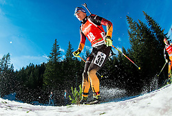 BIRNBACHER Andreas (GER) competes during Men 12,5 km Pursuit at day 3 of IBU Biathlon World Cup 2014/2015 Pokljuka, on December 20, 2014 in Rudno polje, Pokljuka, Slovenia. Photo by Vid Ponikvar / Sportida