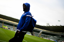 Abu Ogogo of Bristol Rovers arrives at Home Park prior to kick off - Mandatory by-line: Ryan Hiscott/JMP - 03/09/2019 - FOOTBALL - Home Park - Plymouth, England - Plymouth Argyle v Bristol Rovers - Leasing.com Trophy