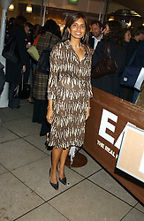 DIVIA LALVANI at a party to celebrate the publication of Soup Kitchen by Annabel Buckingham and Thomasina Miers held at Eat. Royal Festival Hall, London SE1 on 1st November 2005.<br />