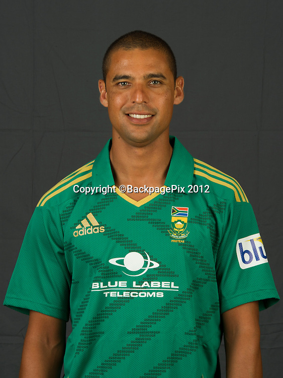 Justin Ontong of South Africa