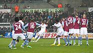 Swansea City v Aston Villa 261214