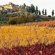 Cacchiano Castle, Monti in Chianti, Tuscany