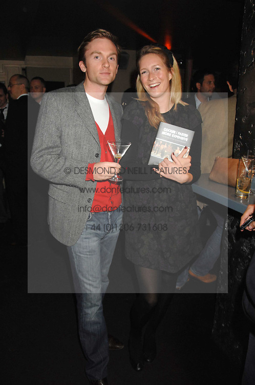 RORY STIRLING and ASHLIE FRANKLIN at a party to celebrate the publication of the book 'The Return of the Sloane Ranger' held at Kitt's, Sloane Square, London on 15th October 2007.<br /><br />NON EXCLUSIVE - WORLD RIGHTS