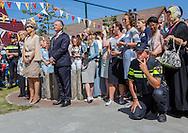 Urk, 09-06-2016 <br /> <br /> Queen Maxima at the start of Neighbor Day<br /> <br /> <br /> COPYRIGHT:ROYALPORTRAITS EUROPE/BERNARD RUEBSAMEN