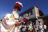 Bolivia.Tarija. San Roque. During the procession