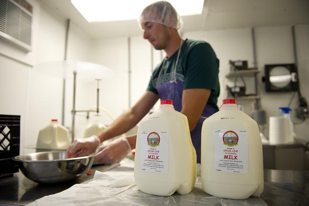 Processing milk