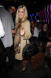 KAYLEY KERNEY at the Tatler Little Black Book Party held at Chinawhite, 4 Winsley Street, London on 20th November 2009.