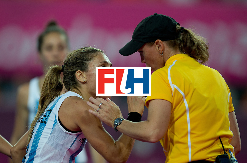London Olympics 10/08/2012.Womens Hockey Gold Medal Match .Argentina v Netherlands ....Photo: Grant Treeby