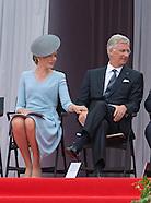 Royals Attend WWl Anniversary, Cointe, Liege