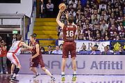 DESCRIZIONE : Campionato 2014/15 Serie A Beko Grissin Bon Reggio Emilia - Umana Reyer Venezia Semifinale Playoff Gara1<br /> GIOCATORE : Benjamin Ortner<br /> CATEGORIA : Tiro Tre Punti Three Point Controcampo<br /> SQUADRA : Umana Reyer Venezia<br /> EVENTO : LegaBasket Serie A Beko 2014/2015<br /> GARA : Grissin Bon Reggio Emilia - Umana Reyer Venezia Semifinale Playoff Gara1<br /> DATA : 30/05/2015<br /> SPORT : Pallacanestro <br /> AUTORE : Agenzia Ciamillo-Castoria/R.Morgano