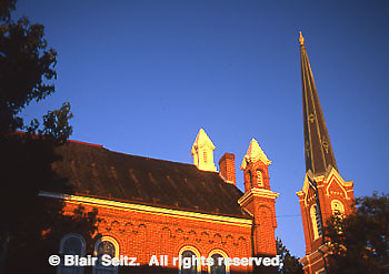 First Presbyterian Church, built in 1860, along historic tour, York, PA