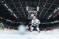 KELOWNA, CANADA - JANUARY 08: Joe Gatenby #28 of Kelowna Rockets calls for the pass against the Everett Silvertips on January 8, 2016 at Prospera Place in Kelowna, British Columbia, Canada.  (Photo by Marissa Baecker/Shoot the Breeze)  *** Local Caption *** Joe Gatenby;