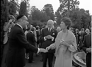 06/09/1978<br /> 09/06/1978<br /> 06 September 1978<br /> Reception for Mr. Sean Donlon, New Irish Ambassador to the United States, at the U.S. Embassy Residence, Phoenix Park, Dublin.