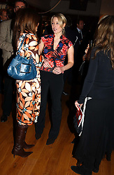 LADY CLARE KERR daughter of Michael Ancram at the Macmillan Cancer Relief Celebrity Christmas Stocking Auction held at Christie's, South Kensington, London on 8th December 2004.<br /><br />NON EXCLUSIVE - WORLD RIGHTS