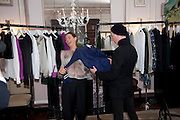 SARAH MURRAY; JAMES BROWN, Hamlton-Paris host a trunk show for Autumn/Wnter 2010. The Connaught. Carlos Place. Mayfair. London W1. 23 March 2010.