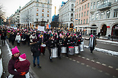 Womens march Stockholm